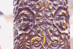 Исторический бронзовый объект Стоковые Фото