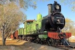 Исторический двигатель поезда пара Стоковая Фотография RF