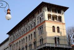 Исторический дворец и вдоль пролива Триеста в Friuli Venezia Giulia (Италия) Стоковое Изображение