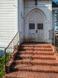 Исторический вход церков Стоковые Изображения