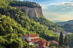 Исторический городок Melnik, Бугарски. Стоковые Изображения RF