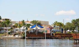 Исторический городской портовый район Stuart Стоковое Фото