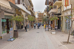 Исторический город Chania стоковое изображение rf