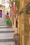 Исторический город Chania стоковые изображения