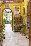 Исторический город Chania стоковые фото