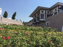 Исторический дом Бурсы Изображение дома в районе Бурсы Розарий и старое здание Стоковое Изображение RF