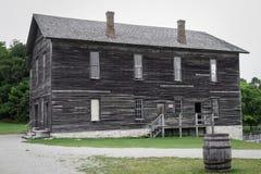 Исторический деревянный дом Стоковые Фотографии RF