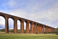 Исторический железнодорожный виадук северо-запада Шотландии стоковое изображение