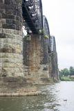 Исторический железнодорожный мост стоковая фотография