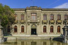 Исторический замок - замок Chapultepec Стоковые Изображения