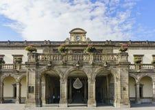 Исторический замок - замок Chapultepec Стоковая Фотография RF