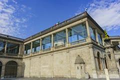 Исторический замок - замок Chapultepec Стоковая Фотография