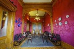 Исторический замок - замок Chapultepec Стоковое Изображение