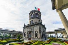 Исторический замок - замок Chapultepec Стоковое Фото