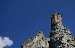 Исторический замок Devin стоковое фото