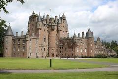 Исторический замок Glamis в Шотландии, Великобритании стоковые изображения rf