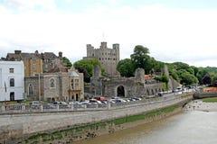 Исторический замок Rochester Стоковая Фотография RF
