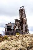 Исторический золотодобывающий рудник в Викторе Колорадо стоковые изображения