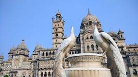 Исторический индийский дворец Vadodara стоковые изображения rf