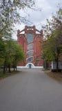 Исторический и архитектурный комплекс зданий построенных в 1856 до 1913 летах в Tver Стоковые Изображения RF