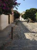 Исторический квартал города del Сакраменто Colonia стоковые фото