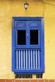 Исторический колониальный балкон Стоковые Фотографии RF