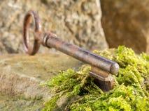 Исторический ключ Стоковое Фото