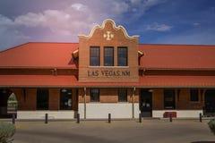 Исторический Лас-Вегас Неш-Мексико Стоковое Изображение