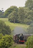 исторический локомотивный пар Стоковое фото RF