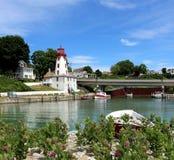 Исторический маяк на Kincardine, Онтарио стоковые изображения rf
