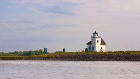 исторический маяк julssand стоковые фото