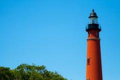 Исторический маяк Ponce De Леон Стоковые Изображения RF