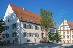 Исторический монастырь Kirchberg Стоковая Фотография RF