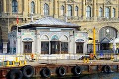 Исторический морской порт Haydarpasa в Стамбуле Стоковое фото RF
