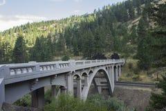 Исторический мост свода Perry стоковые фотографии rf