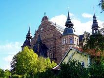 Исторический музей здания в городе Стокгольма Стоковое фото RF