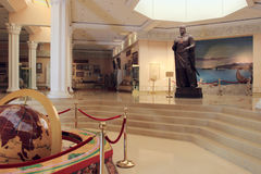 Исторический музей Sughd в городе Khujand, Таджикистане Стоковые Фотографии RF