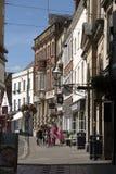 Исторический небольшой город Devizes Уилтшира Англии Великобритании Стоковая Фотография