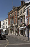 Исторический небольшой город Devizes Уилтшира Англии Великобритании Стоковые Изображения