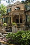 Исторический дом викторианец Georgia саванны Стоковое фото RF