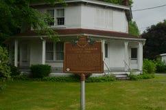 Исторический дом восьмиугольника Клэранса Darrow в Огайо Стоковое Фото