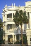 Исторический дом в Чарлстоне, SC Стоковая Фотография RF
