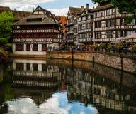 Исторический дом Ла маленькой Франции в страсбурге Стоковое Изображение