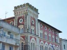 Исторический дом на портовом районе Стоковое фото RF