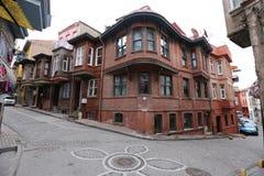 Исторический дом стиля Стоковая Фотография