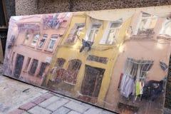 Исторический дом стиля Стоковое фото RF