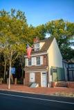 Исторический дом Betsy Ross Стоковое Фото