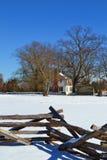 Исторический дом 2 Moore Стоковое фото RF