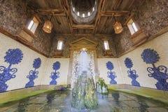 Исторический ориентир ориентир вокруг замка Arundel Стоковая Фотография