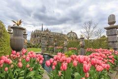 Исторический ориентир ориентир вокруг замка Arundel Стоковая Фотография RF